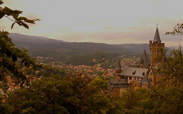 Wernigerode, Schloss, Brocken