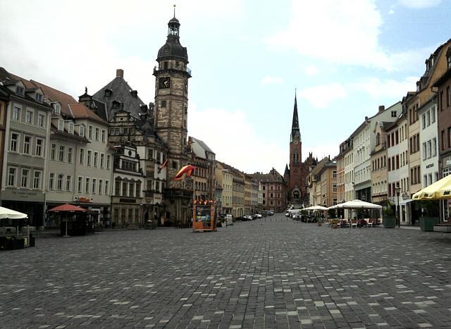Altenburg, Marktplatz