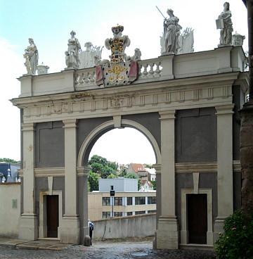 Altenburg, Schlosstor