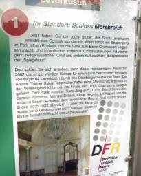 Leverkusen, Fußballroute NRW