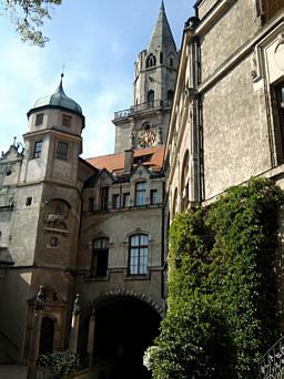 Sigmaringen, Schlosshof