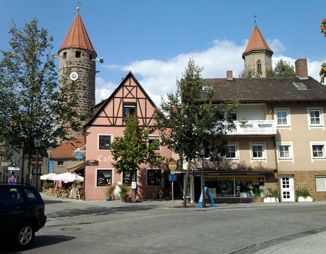 Gunzenhausen, zwei Türme