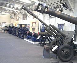 Spandau, Kanonenausstellung in der Zitadelle
