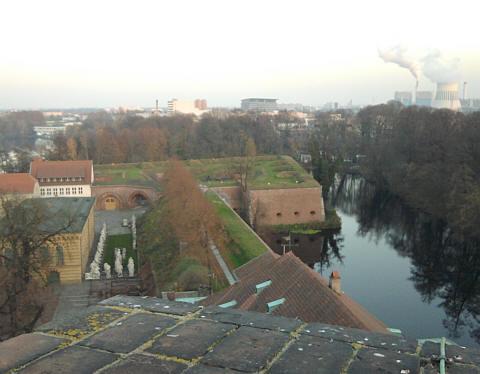 Spandau, Zitadelle, Blick vom Juliusturm