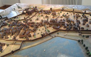 Kaiserslautern um 1625 (im Stadtmuseum)