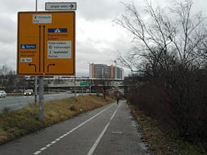 Wolfsburg, Fahrradweg
