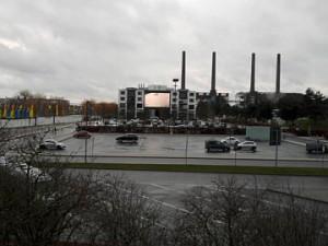 Wolfsburg, Parkplatz