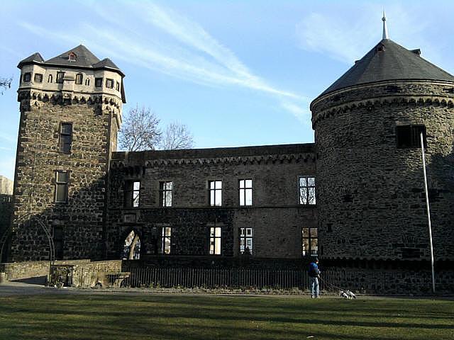 Andernach, Burgruine2