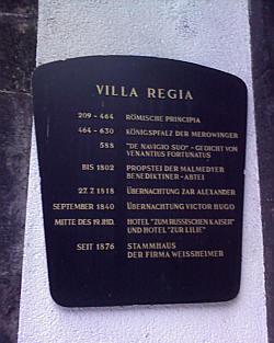 Andernach, Villa Regia