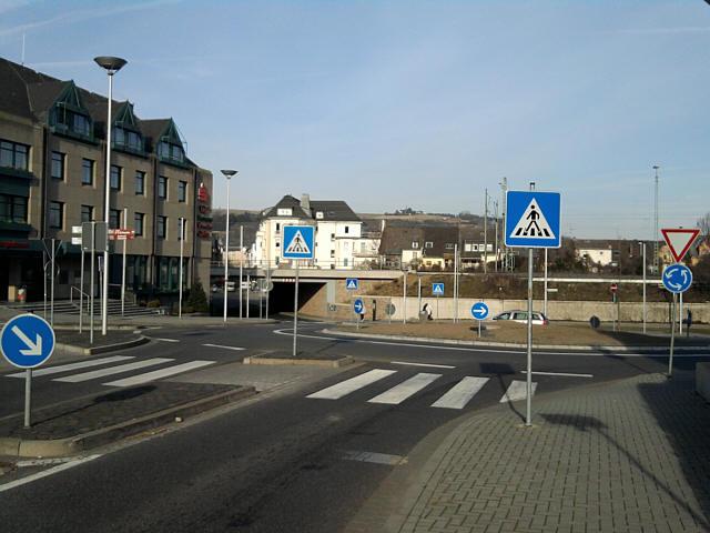 Andernach, Schilderwald