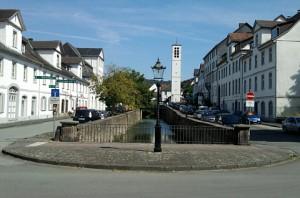 Bad Karlshafen, Teil des alten Landgraf-Carl-Kanals