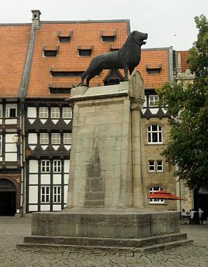 Braunschweig, Heinrichs des Löwen Löwe