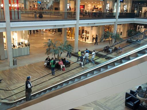 Braunschweig, Shoppingschloss von innen