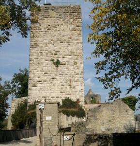 Pappenheim, Bergfried der Burg