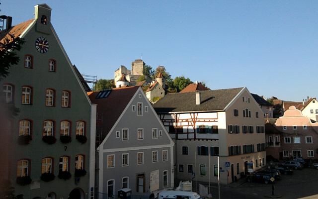 Pappenheim, Burg über der Stadt