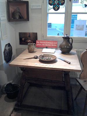 'Die Herren kommen und gehen, der Bettler bleibt' (Brühl, Museum für Alltagskultur)