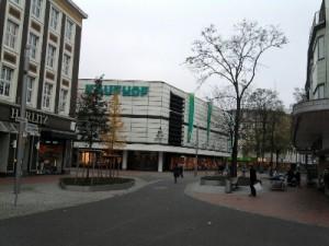 Hamm, Fußgängerzone