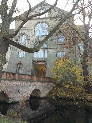 Köthen, das Schloss war einst eine Wasserburg