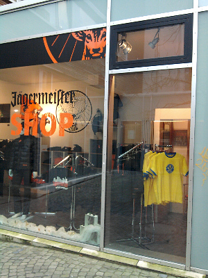 Wolfenbüttel, Jägermeister-Shop