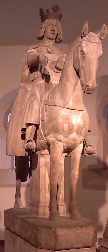 Magdeburger Reiter im Original (Kulturhistorisches Museum)