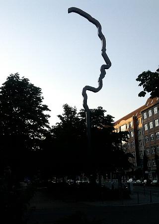 Berlin, Georg Elser-Denkzeichen in der Wilhelmstraße