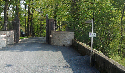 Guttenberg, Schlossallee