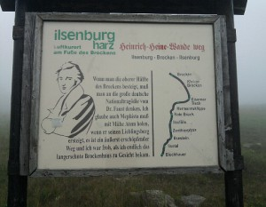 Brocken, Heinrich-Heine-Weg