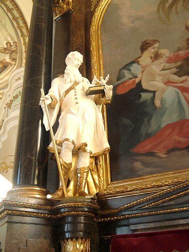 Pfronten, Heiliger in der St. Nikolaus-Kirche