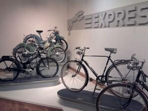 Neumarkt, Express-Zweiräder im Stadtmuseum
