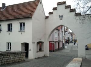 Neumarkt, altes Stadttor