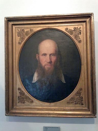 Freyburg, Jahn-Gemälde des Malers F.L. Heine im Jahn-Museum