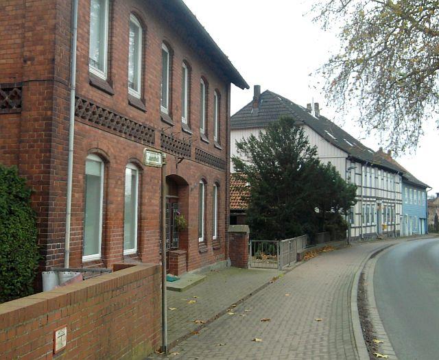 Lauenstadt ist Straße und Ortschaft zugleich