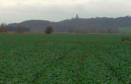 Silhouette der Marienburg bei Schulenburg (Calenberg)