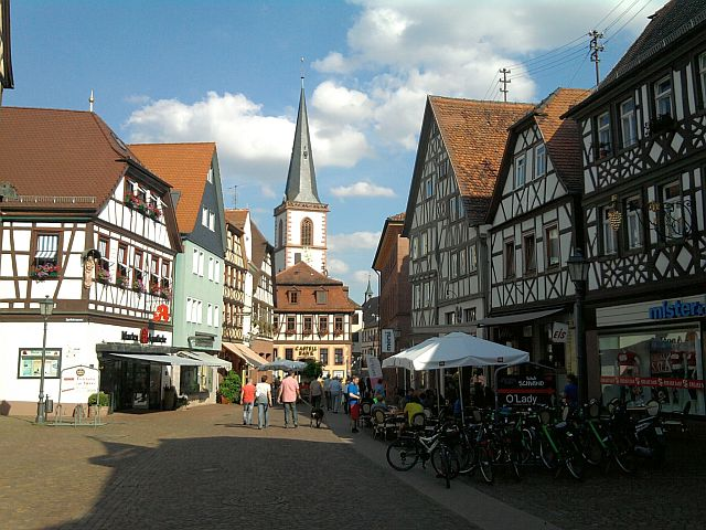 Lohr, Stadtzentrum