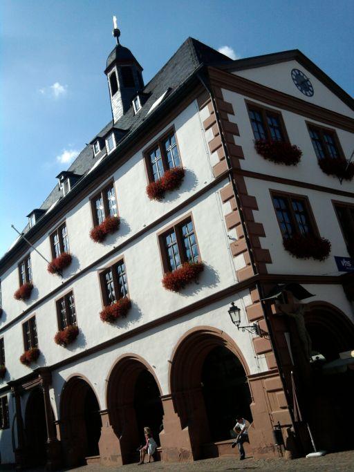 Lohr, altes Rathaus