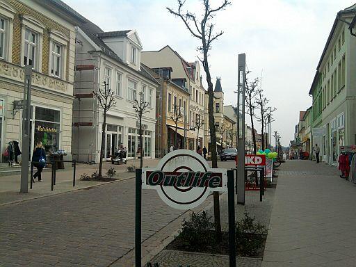 Neustrelitz, Strelitzer Straße