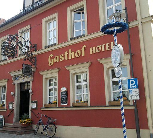 Goldkronach, Gasthof (in dem einst Alexander von Humboldt weilte)
