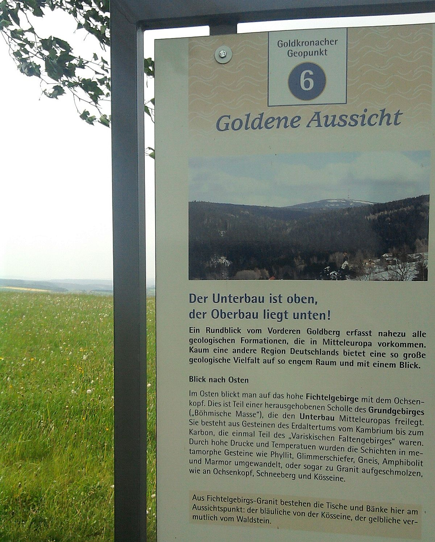 Goldkronach, Goldene Aussicht