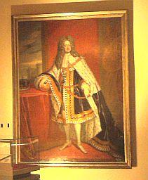 Celle, Georg I. (Gemälde aus der aktuellen Schloss-Ausstellung)