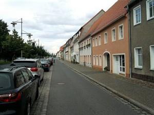 Doberlug, schnurgerade Planstadt-Straße