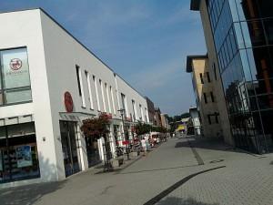 Lehrte, Fußgängerzone (ungefähr wo die alte Zuckerfabrik stand)