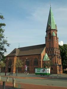 Lehrte, Matthäuskirche am Markt