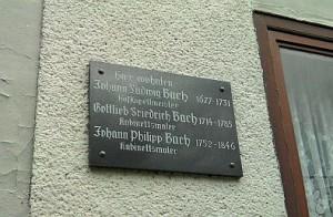 Meiningen, wo die Bachs wohnten