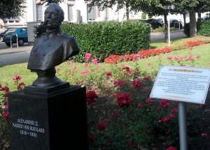 Bad Ems, Zar-Alexander II.-Büste
