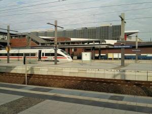 Bad Berlin, ICE-Bahnhof Gesundbrunnen