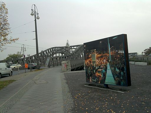 Berlin, Bösebrücke (vom Prenzlauer Berg aus)