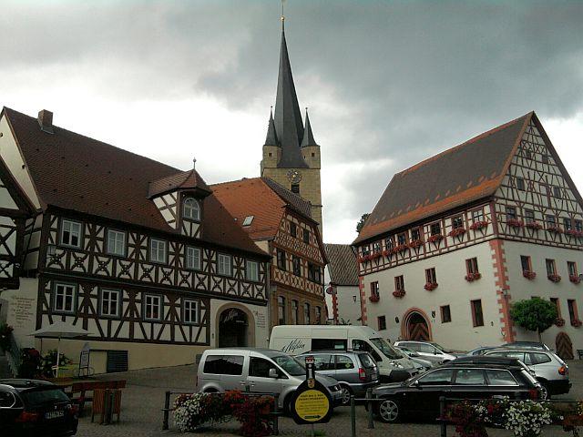 Zeil, Marktplatz