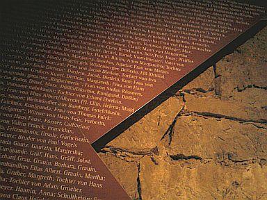 Zeil, Namen von 400 Opfern