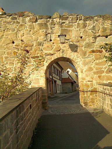 Zeil, Stadtmauer