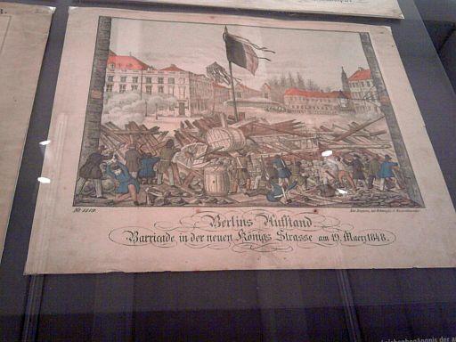 Neuruppin, Revolutions-Bilderbogen von 1848 im Stadtmuseum